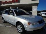 2000 Satin Silver Metallic Volkswagen Passat GLS 1.8T Wagon #20241835
