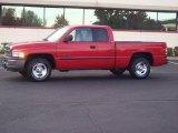 2001 Flame Red Dodge Ram 1500 SLT Club Cab #20238408