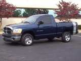 2006 Patriot Blue Pearl Dodge Ram 1500 ST Regular Cab #20238409