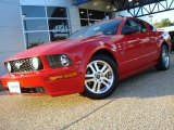 2005 Torch Red Ford Mustang GT Premium Coupe #20230974