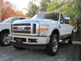2010 Oxford White Ford F350 Super Duty King Ranch Crew Cab 4x4 #20246116