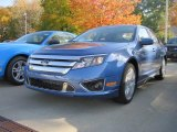 2010 Sport Blue Metallic Ford Fusion Sport #20246112