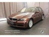 2007 Barrique Red Metallic BMW 3 Series 328i Sedan #20226216