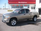 2006 Light Khaki Metallic Dodge Ram 1500 SLT Quad Cab 4x4 #20230155