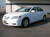 2008 Super White Toyota Camry LE #20238539