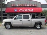 2008 Silver Birch Metallic Chevrolet Silverado 1500 LT Crew Cab #20230623