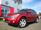 2006 Nissan Murano Sunset Red Pearl Metallic
