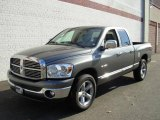 2008 Mineral Gray Metallic Dodge Ram 1500 Big Horn Edition Quad Cab #20243644