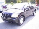 2007 Galaxy Black Nissan Titan XE King Cab #20308407