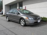 2006 Galaxy Gray Metallic Honda Civic EX Sedan #20304411