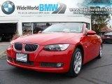 2007 Crimson Red BMW 3 Series 335i Convertible #20293508