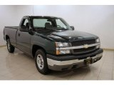 2004 Dark Green Metallic Chevrolet Silverado 1500 Regular Cab #20310366