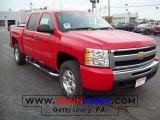 2009 Victory Red Chevrolet Silverado 1500 LT Z71 Crew Cab 4x4 #20306061