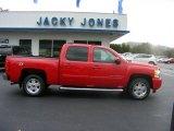 2008 Victory Red Chevrolet Silverado 1500 LTZ Crew Cab 4x4 #20306889