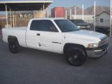 1999 Bright White Dodge Ram 1500 ST Extended Cab #20303091