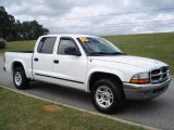 2003 Bright White Dodge Dakota SLT Quad Cab #20305452