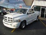 2005 Bright White Dodge Ram 1500 Laramie Quad Cab #20308966