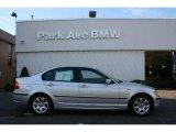 2003 Titanium Silver Metallic BMW 3 Series 325i Sedan #20294093