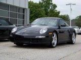 2007 Black Porsche 911 Carrera 4S Coupe #203443
