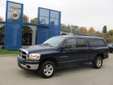 2006 Patriot Blue Pearl Dodge Ram 1500 SLT Quad Cab 4x4 #20296658
