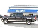 2005 Black Chevrolet Silverado 1500 LS Crew Cab 4x4 #20307656