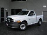 2010 Stone White Dodge Ram 1500 ST Regular Cab #20353409