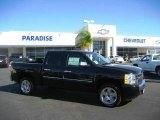 2009 Black Chevrolet Silverado 1500 LT Crew Cab #20367722
