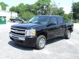 2009 Black Chevrolet Silverado 1500 LT Crew Cab #20358927