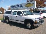 2002 Summit White Chevrolet Silverado 1500 LS Extended Cab 4x4 #20358816