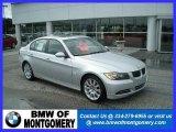 2007 Titanium Silver Metallic BMW 3 Series 335i Sedan #20364356