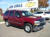 2004 Sport Red Metallic Chevrolet Tahoe LS 4x4 #20358796