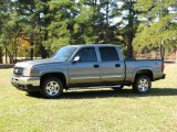 2006 Graystone Metallic Chevrolet Silverado 1500 Z71 Crew Cab 4x4 #20362690