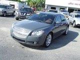 2008 Dark Gray Metallic Chevrolet Malibu LTZ Sedan #20358866