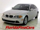 2004 Titanium Silver Metallic BMW 3 Series 325i Coupe #20451943
