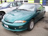 1999 Medium Green Metallic Chevrolet Cavalier Z24 Convertible #20456633