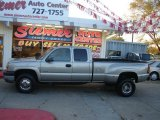 Light Pewter Metallic Chevrolet Silverado 3500 in 2003