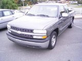 2002 Medium Charcoal Gray Metallic Chevrolet Silverado 1500 LS Extended Cab #20465974