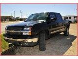 2004 Black Chevrolet Silverado 1500 Z71 Crew Cab 4x4 #20458708