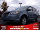 2010 Clearwater Blue Pearl Chrysler Town & Country Limited #20454882