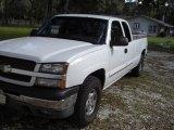 2003 Summit White Chevrolet Silverado 1500 LS Extended Cab 4x4 #20463426