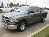 2010 Mineral Gray Metallic Dodge Ram 1500 ST Quad Cab #20457251