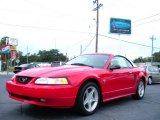 1999 Rio Red Ford Mustang GT Convertible #20438518