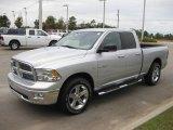 2010 Bright Silver Metallic Dodge Ram 1500 Big Horn Quad Cab #20457253