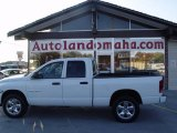2003 Bright White Dodge Ram 1500 SLT Quad Cab 4x4 #20458073