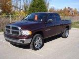 2005 Deep Molten Red Pearl Dodge Ram 1500 SLT Quad Cab 4x4 #20465814