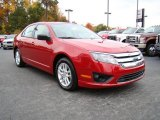 2010 Sangria Red Metallic Ford Fusion S #20455055
