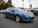 2010 Sport Blue Metallic Ford Fusion Sport #20455050
