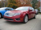 2010 Sangria Red Metallic Ford Fusion SEL #20466442