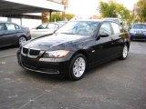 2006 Black Sapphire Metallic BMW 3 Series 325i Sedan #20452678