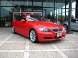 2006 Electric Red BMW 3 Series 330i Sedan #20455627